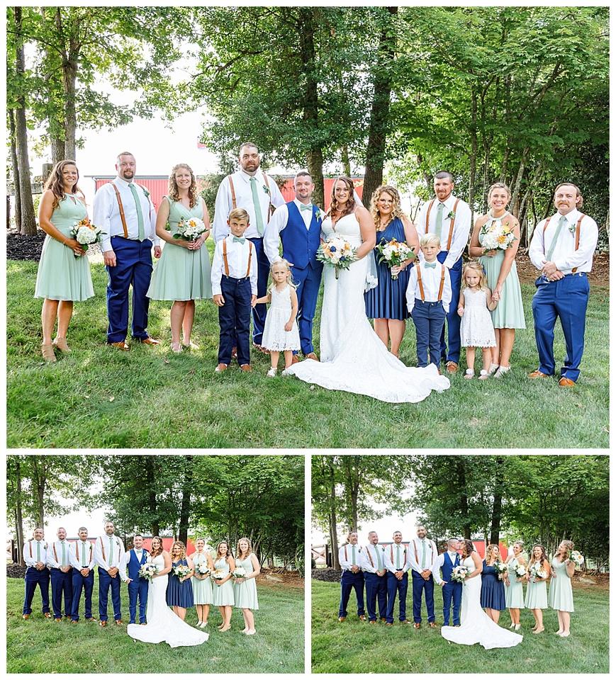red cedar farm wedding, granite falls wedding, diy wedding, funny first look,