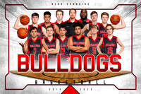 varsity boys BULLDOGS BASKETBALL TEAM